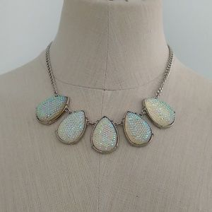 NYC Boutique Iridescent Crystal Necklace